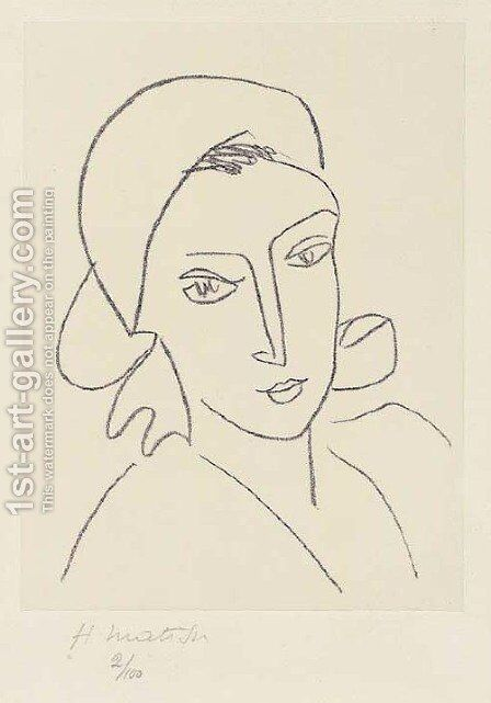 Catherinette by Henri Matisse - Reproduction Oil Painting