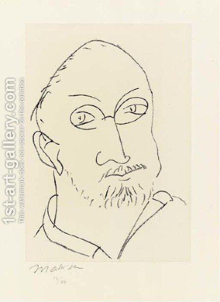 Grande Masque by Henri Matisse - Reproduction Oil Painting