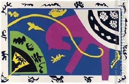Jazz, Teriade by Henri Matisse - Reproduction Oil Painting