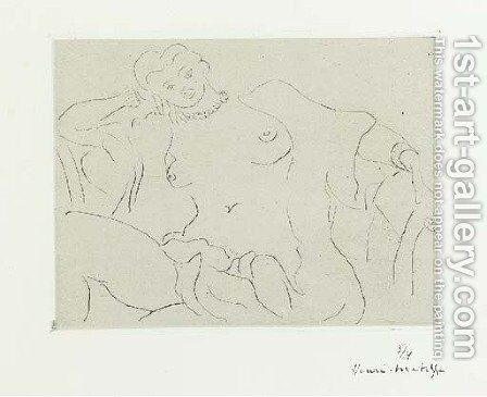 La Pause by Henri Matisse - Reproduction Oil Painting