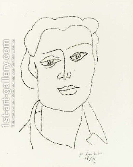 Lydia by Henri Matisse - Reproduction Oil Painting