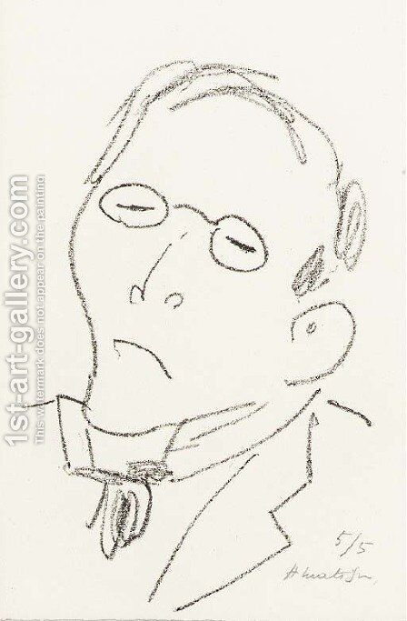 Paul Leautaud by Henri Matisse - Reproduction Oil Painting