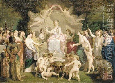 Allegory of spring by Henri Pierre Picou - Reproduction Oil Painting
