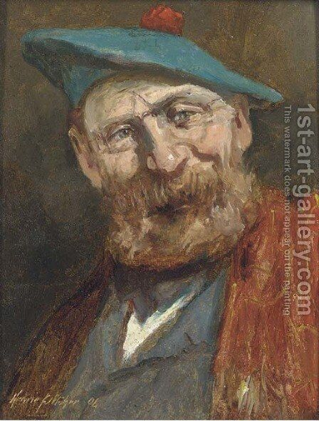A Scotsman by Henrie Pitcher - Reproduction Oil Painting