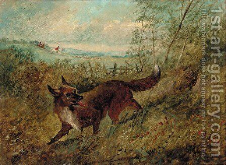 The lost scent by Henry Woollett - Reproduction Oil Painting