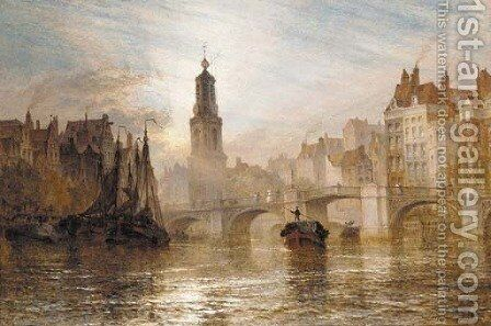 Amsterdam by Henry Thomas Dawson - Reproduction Oil Painting