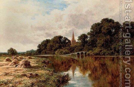 On the Avon by Henry Hillier Parker - Reproduction Oil Painting