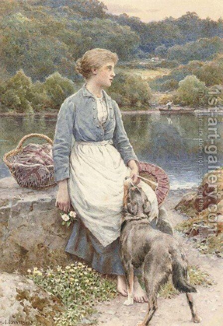 The loyal friend by Henry James Johnstone - Reproduction Oil Painting