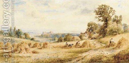 Near Arundel, Sussex by Henry John Kinniard - Reproduction Oil Painting