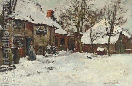 Winter by Henry John Yeend King - Reproduction Oil Painting