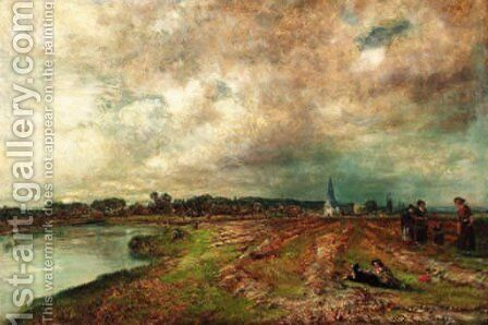Clouds in June by Henry Mark Anthony - Reproduction Oil Painting