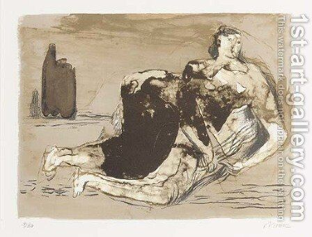 Adam by Henry Moore - Reproduction Oil Painting