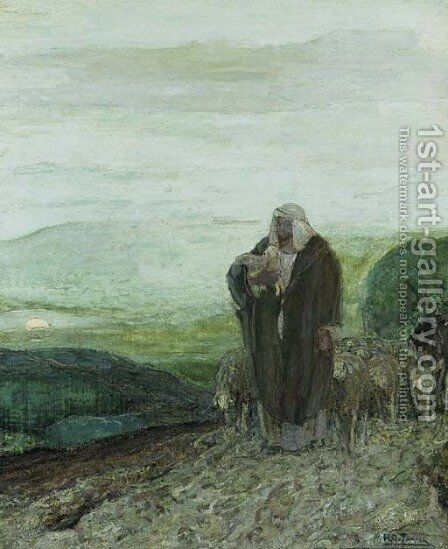 The Good Shepherd by Henry Ossawa Tanner - Reproduction Oil Painting