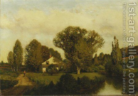 Autumn by Henry Pember Smith - Reproduction Oil Painting