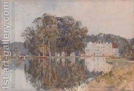 Coltishall, Norfolk by Henry Robert Robertson - Reproduction Oil Painting