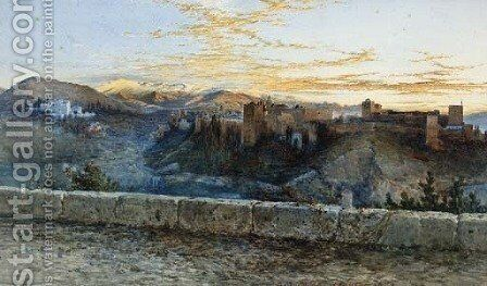 A View of Granada by Henry Stanier - Reproduction Oil Painting