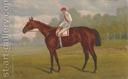 Ban Fox, with William Hayward up by Henry Stull - Reproduction Oil Painting