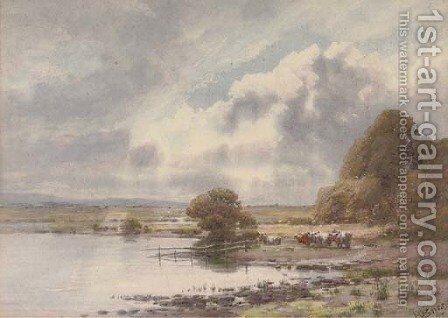 A break in the clouds by Henry Sykes - Reproduction Oil Painting