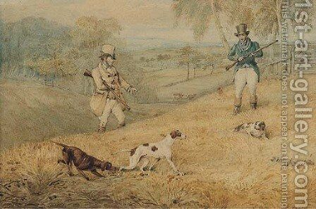 A day's shooting by Henry Thomas Alken - Reproduction Oil Painting