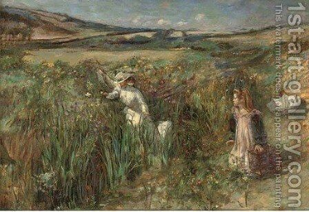 The escaped bird by Henry Tonks - Reproduction Oil Painting