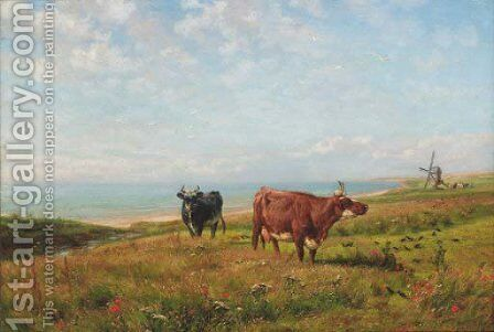 Summertime by Henry William Banks Davis - Reproduction Oil Painting