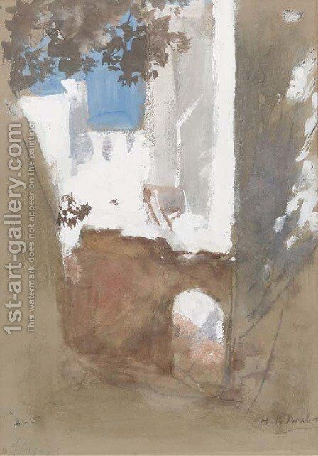 Algiers by Hercules Brabazon Brabazon - Reproduction Oil Painting