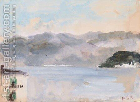 Calabria by Hercules Brabazon Brabazon - Reproduction Oil Painting