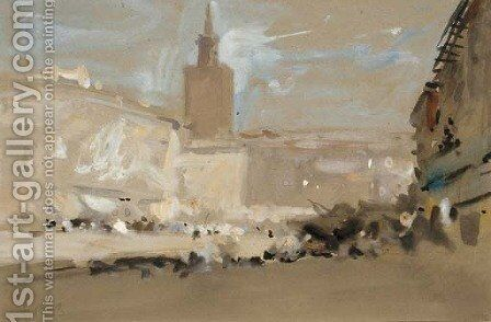 Venice 2 by Hercules Brabazon Brabazon - Reproduction Oil Painting