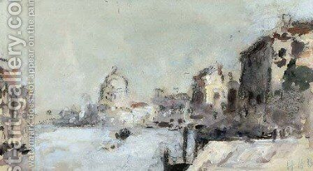 The Grand Canal, Venice 2 by Hercules Brabazon Brabazon - Reproduction Oil Painting