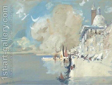 Venice 4 by Hercules Brabazon Brabazon - Reproduction Oil Painting