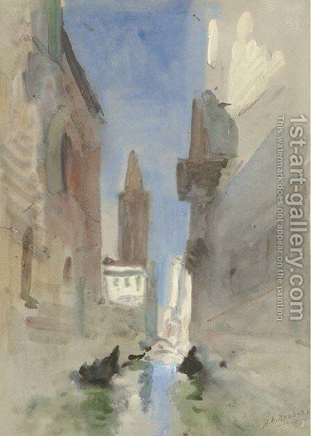 Venice, Italy by Hercules Brabazon Brabazon - Reproduction Oil Painting