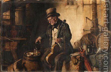 Kern, H. by Hermann Kern - Reproduction Oil Painting