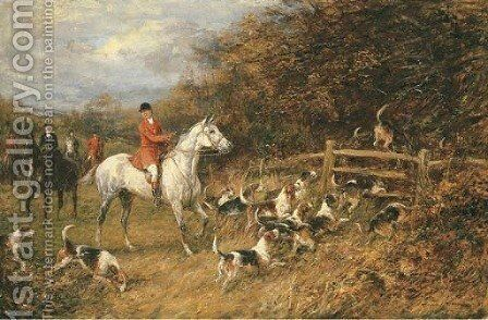 In For the Kill by Heywood Hardy - Reproduction Oil Painting
