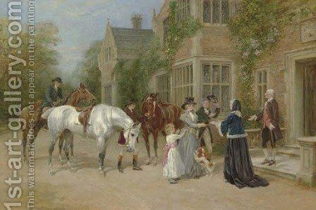 The Homecoming by Heywood Hardy - Reproduction Oil Painting