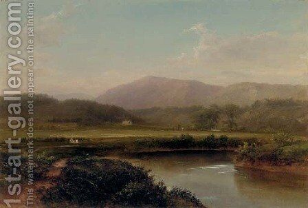 In the Adirondacks by Homer Dodge Martin - Reproduction Oil Painting