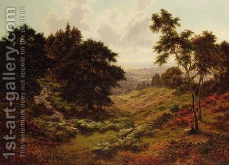 Early Autumn, May Hill, Gloucester by Horace Walter Gilbert - Reproduction Oil Painting