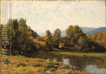 Indian Summer by Hugh Bolton Jones - Reproduction Oil Painting