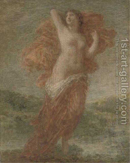 Aurora by Ignace Henri Jean Fantin-Latour - Reproduction Oil Painting