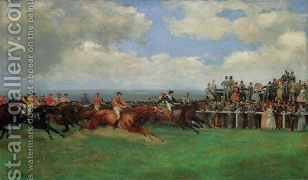 The Finish by Isaac Cullin - Reproduction Oil Painting