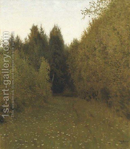 Forest clearing by Isaak Ilyich Levitan - Reproduction Oil Painting