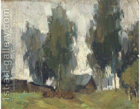 Landscape by Isaak Ilyich Levitan - Reproduction Oil Painting