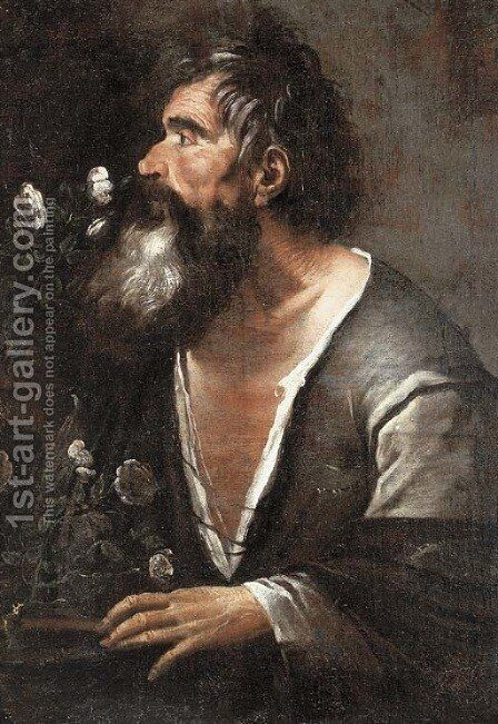 An allegory of the sense of smell by Italian School - Reproduction Oil Painting