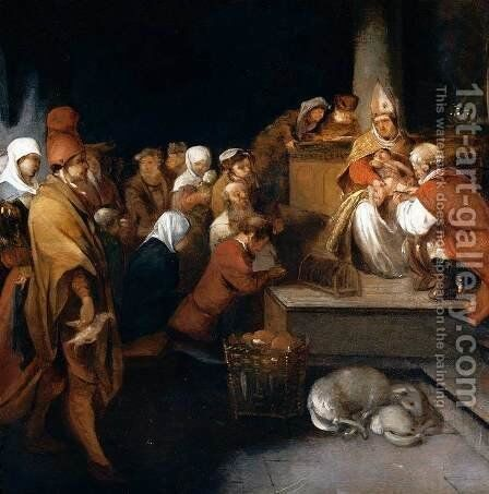 The Circumcision by Barent Fabritius - Reproduction Oil Painting