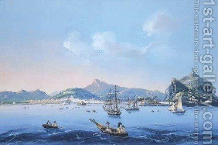 Palermo by Italian School - Reproduction Oil Painting