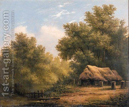 Landscape by Ivan Shishkin - Reproduction Oil Painting
