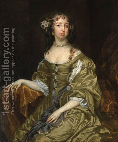 Portrait of Lady Cotton by Jacob Huysmans - Reproduction Oil Painting