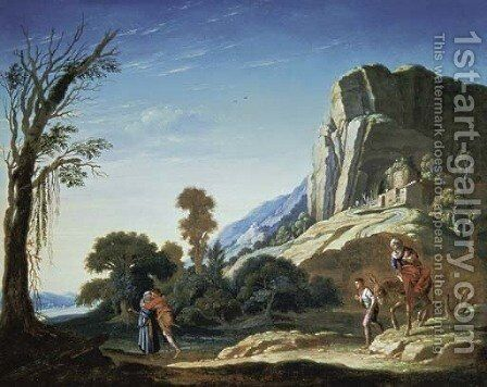 Moses and Aaron by Jacob Pynas - Reproduction Oil Painting
