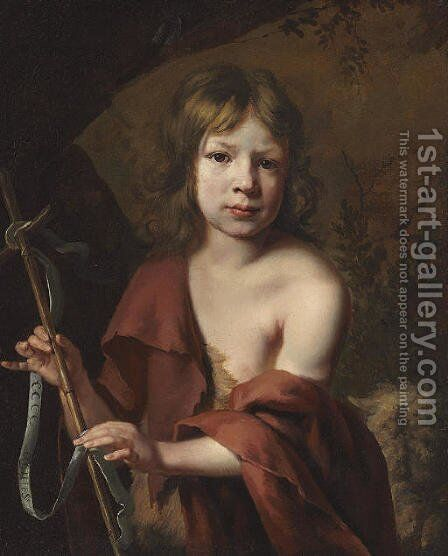 Portrait of a boy as Saint John the Baptist by Jacob van, the Elder Oost - Reproduction Oil Painting