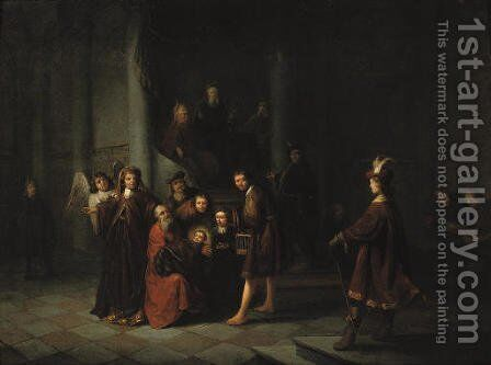 The Presentation at the Temple by Jacob van Spreeuwen - Reproduction Oil Painting