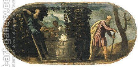 An Allegory of Autumn and Winter by Jacopo Tintoretto (Robusti) - Reproduction Oil Painting